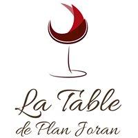 La Table de Plan Joran
