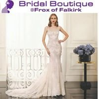 Bridal Boutique at Frox of Falkirk