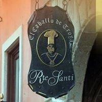 Restaurante Santi, Caballo de Troya