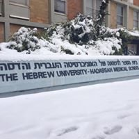 Faculty of Medicine, Hadassah Ein-Karem, Hebrew University of Jerusalem