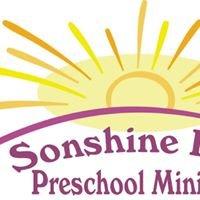 Sonshine Kids Preschool Ministry