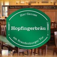 Hopfingerbräu am Brandenburger Tor - Berlin