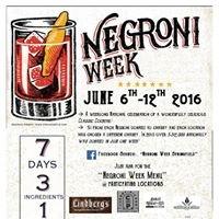 Negroni Week Springfield
