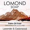 Lomond Soap - Palm Oil Free