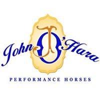 John O'Hara Performance Horses