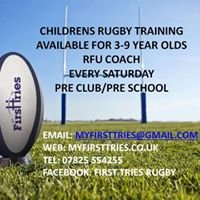First Tries Childrens Rugby Training