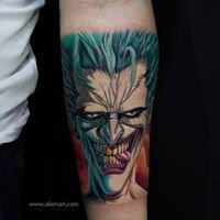 TattooArtist Ali Ersarı
