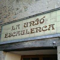 Cafeteria la Unió Escaulenca