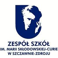Zespół Szkół im. Marii Skłodowskiej - Curie w Szczawnie Zdroju