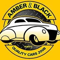 Amber and Black Quality Cars - New Plymouth