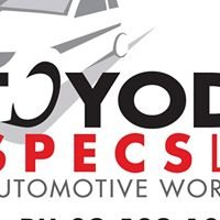 Toyoda Specs Ltd