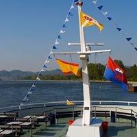 Eventkatamaran Filia Rheni (Schifffahrt Schmitz Bonn)
