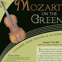 Mozart on the Green Chamber Music Festival