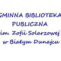 Gminna Biblioteka Publiczna im. Zofii Solarzowej w Białym Dunajcu