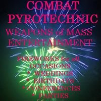 Combat Pyrotechnic Fireworks Displays