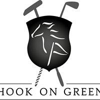 Hook on green