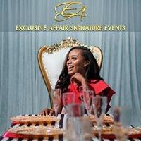 Exclusive Affair Signature Events