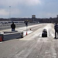 Junior Dragster Racing at Etown