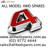 All Model 4WD Spares