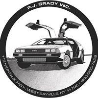 PJ Grady Inc. DeLorean Sales, Parts, Service, and Restoration