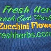 Oz Fresh Herbs and Zucchini flowers.
