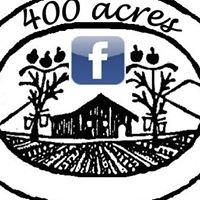 400 acres