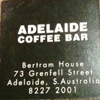 Adelaide coffee Bar