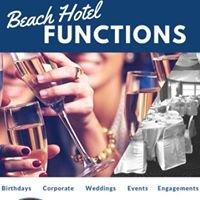 Beach Hotel Functions