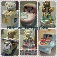 Millie Moo Moo Nappy Cakes by Meagan Skipworth