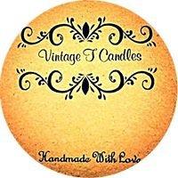 Vintage T Candles