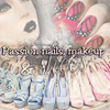 Passion nails, makeup & shoes