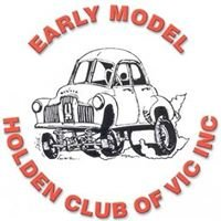 Early Model Holden Club Victoria Inc