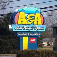 A & A Auto Body and Repairs