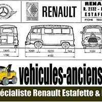 vehicules-anciens.fr spécialiste Estafette & 4L
