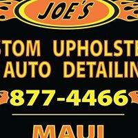 Joe's Custom Upholstery & Auto Detailing