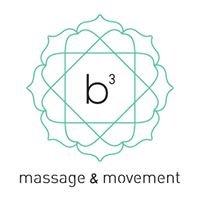 B3 massage and movement