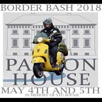 Berwick border bash scooter rally Paxton house