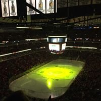 The United Center - LET'S GO BLACKHAWKS!