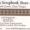 Isabel's Scrapbook Store