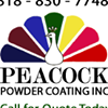 Peacock Powder Coating