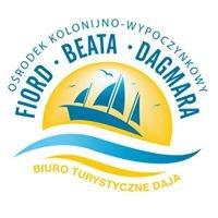 """Ośrodek Kolonijno-Wypoczynkowy B.T.  DAJA """"Fiord, Beata, Dagmara"""""""