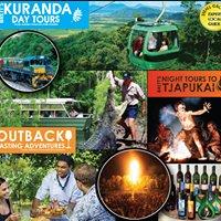 Brett's Kuranda tours,Outback Tasting and Night tours to Tjapukai