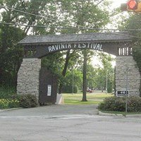 Ravinia Festival Grounds Highland Park. Il