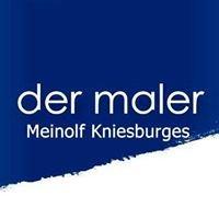 Meinolf Kniesburges Der Maler