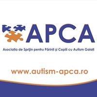 APCA - Asociaţia de Sprijin pentru Părinţi şi Copiii cu Autism Galaţi
