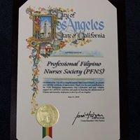 Professional Filipino Nurses Society (PFNS)