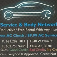 Auto Service and Body