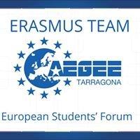 Erasmus Team AEGEE-Tarragona