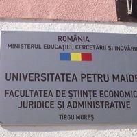 Facultatea de Studii Economice, Juridice si Administrative-UPM Tg mures