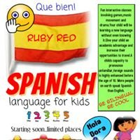 Ruby red spanish for kids